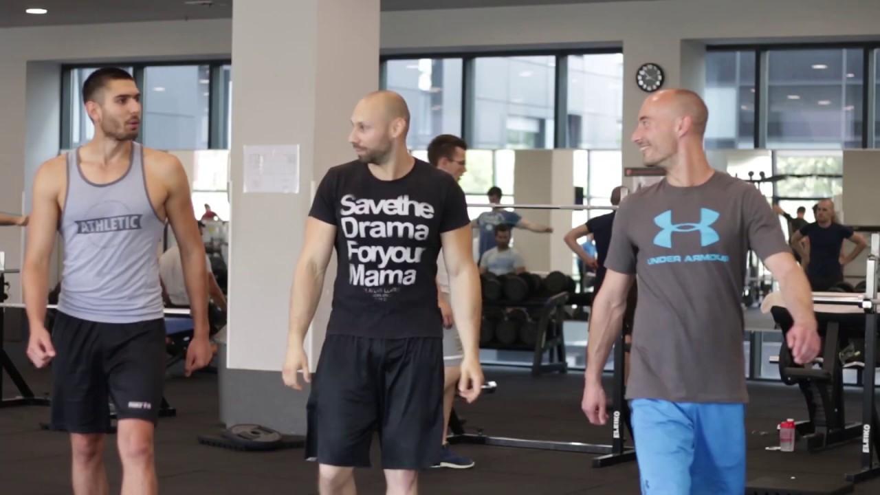 Slabi vegani u gymu | Workout video