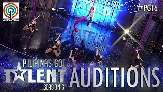 Pilipinas Got Talent 2018 Auditions: Airstars PH - Aerial Silk Dance