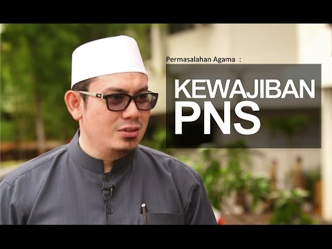 Ceramah Singkat: Kewajiban PNS - Ustadz Ahmad Zainuddin, Lc