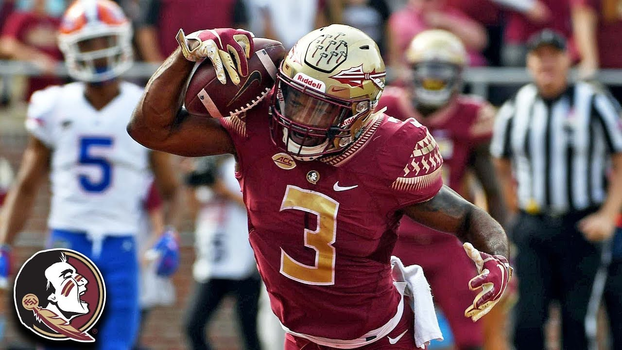 Fsu Rb Cam Akers Top Plays 2018 Youtube