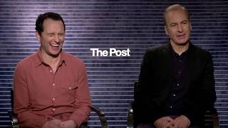 THE POST | Bob Odenkirk & Matthew Rhys Interview