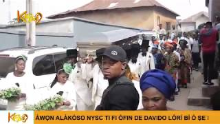 Download Video Baba Sala, Veteran Yoruba Comedian, Buried In Ilesa Amid Tears MP3 3GP MP4