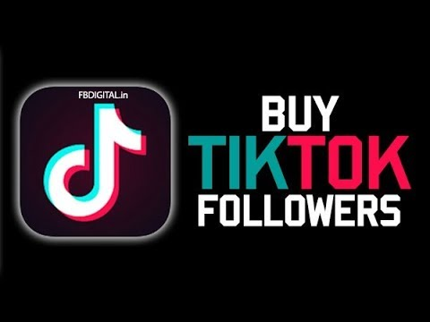 Buy Tik Tok Followers 2020 - YouTube