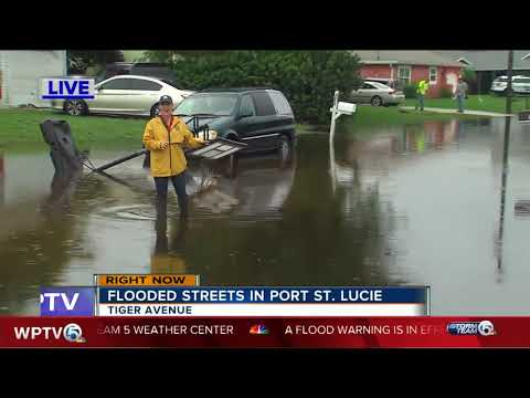 Port St. Lucie impacted by flood waters