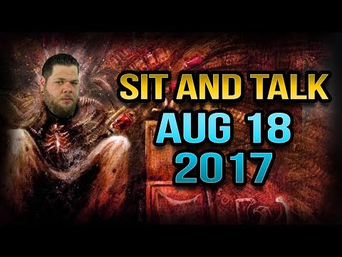 Sit and Talk with Steve August 18 2017
