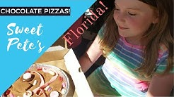 Making Chocolate Pizzas At Sweet Pete's! - Jacksonville, FL - Things to do in Jacksonville
