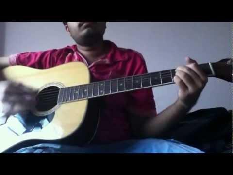 My Love, You're my Pachasara - Da Thadiya | Guitar cover