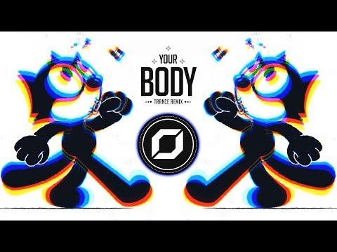 Cat Dealers - Your body (Prog Psytrance Remix) ◉ GIF Video Clip 🍄 | Remixes of Popular Songs 2018