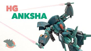 High Grade Anksha Gundam Unicorn Review