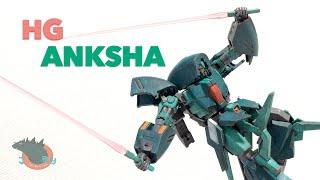 High Grade Anksha Gundam Unicorn Review