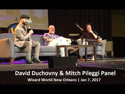 David Duchovny & Mitch Pileggi Panel - Wizard Worl New Orleans | Jan 7, 2017