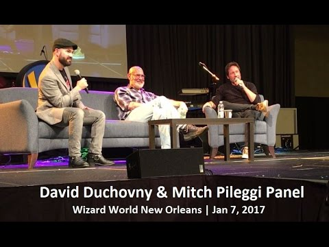 David Duchovny & Mitch Pileggi Panel  Wizard Worl New Orleans  Jan 7, 2017