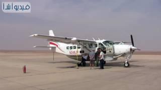 بالفيديو: مطار 6 اكتوبر يستقبل الطائرات المشاركة في رالي الطيران المدني