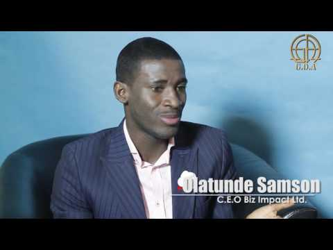 YOUNG MILLIONAIRE - Olatunde Samson on GOA Live interviews