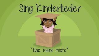Ene mene miste, es rappelt in der Kiste - Kinderlieder zum Mitsingen | Sing Kinderlieder