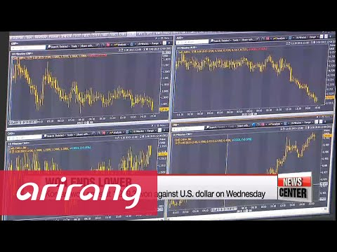 Korean won ends at lowest level against U.S. dollar in nearly 6 years