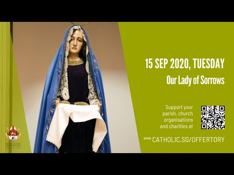 Catholic Weekday Mass Today Online - Our Lady of Sorrows 2020