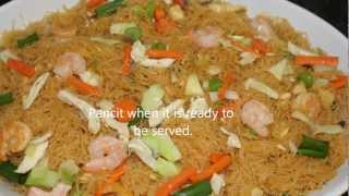 Cooking Pancit Bihon At Home