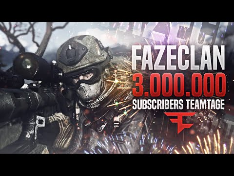 FaZe: 3 Million Subscribers Teamtage by FaZe Agony #FaZe3Mill