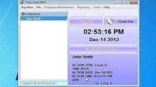 Time Clock MTS - Getting Started
