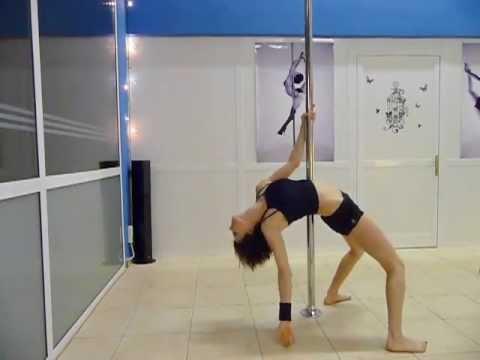Pole Art Routine 05 - Level 1 (Shirley Bassey - Big Spender)