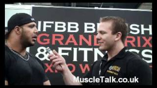 Zack Khan Interview at the British Grand Prix 2011