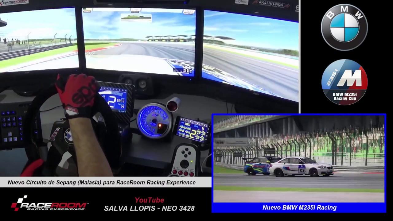 New Circuit Of Sepang Raceroom New Bmw M235i Racing Youtube