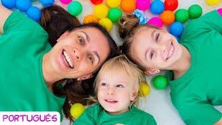 As Cores São Lindas - Canções infantis por Sunny Kids Songs