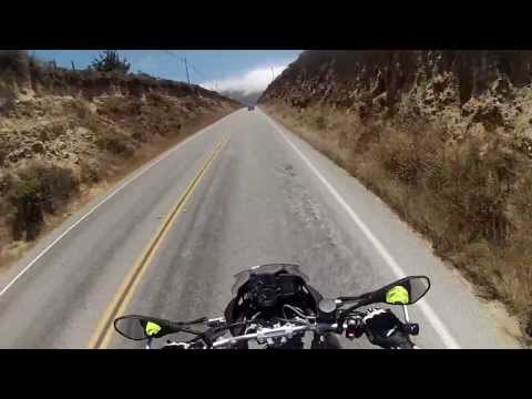 F700GS, HW1 Big Sur to Morro Bay