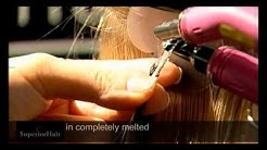 How to install U Tip Hair Extensions