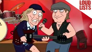 10 Hilarious Rock Star 'Family Guy' Moments