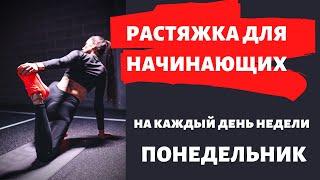 постер к видео Растяжка в ПОНЕДЕЛЬНИК. Оксана Ракитянская. Растяжка для начинающих.