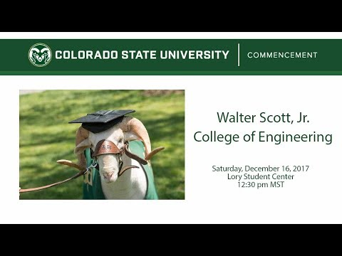 Walter Scott, Jr. College of Engineering Commencement