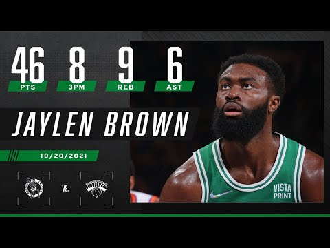 Jaylen Brown drops 46 PTS, MOST EVER by a Celtic in season opener ‼️🔥