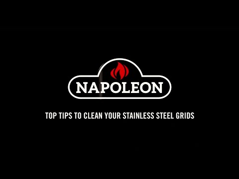 Napoleon Grill Cleaning Tips - Cleaning Stainless Steel Grids
