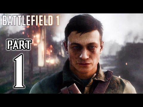 Battlefield 1 Walkthrough PART 1 Gameplay No Commentary @ 1080p (60ᶠᵖˢ) HD ✔