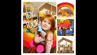 2020 Toy Collection Tour + Tips For The Best Play Experience! *simple, Wooden, Ethical, Open Ended*