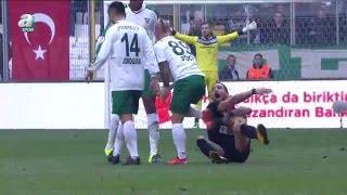 Bursaspor 1 - 2 Amed Sportif Maç Özeti (31 Ocak 2016)