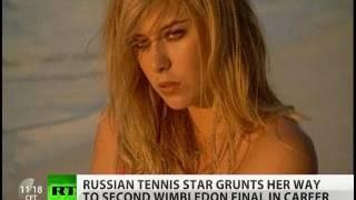 Sex & Serving: Maria Sharapova