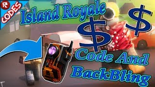 New Code Island Royale BackBling Update (Roblox)