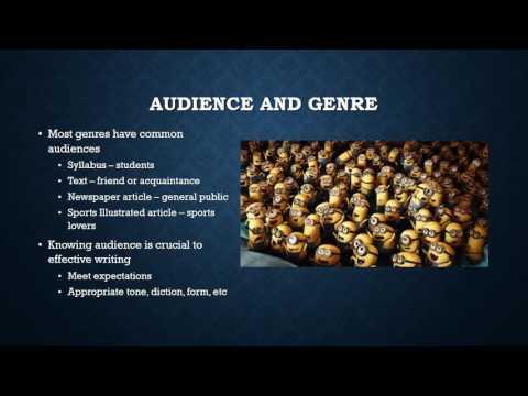 Genre & Rhetoric
