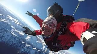 Прыжок с парашютом. Новая Зеландия