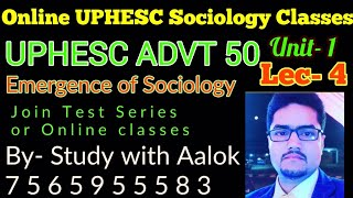 Online classes of Sociology Lec 2 fot NET and Higher Education