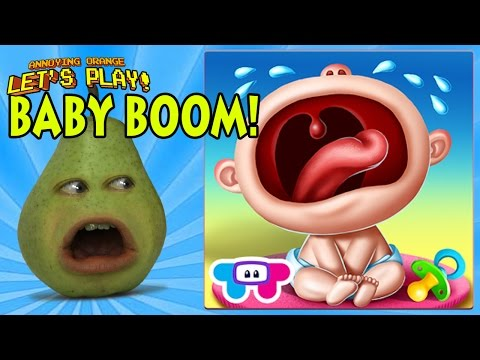 Pear is Forced to Play - BABY BOOM!