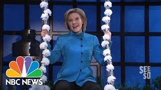 The Evolution of Hillary Clinton, According To SNL | NBC News