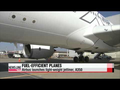 "Fuel-efficient planes ′take off,′ A350 arrives in Korea   ""항공기도 연비시대,"""