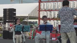 高瀬中学校吹奏楽OBミニコンサート2019高瀬夏祭り