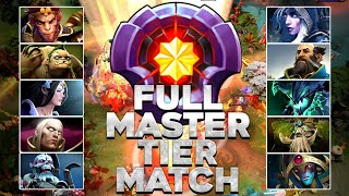 FIRST FULL 10x MASTER TIER MATCH IN DOTA 2 HISTORY