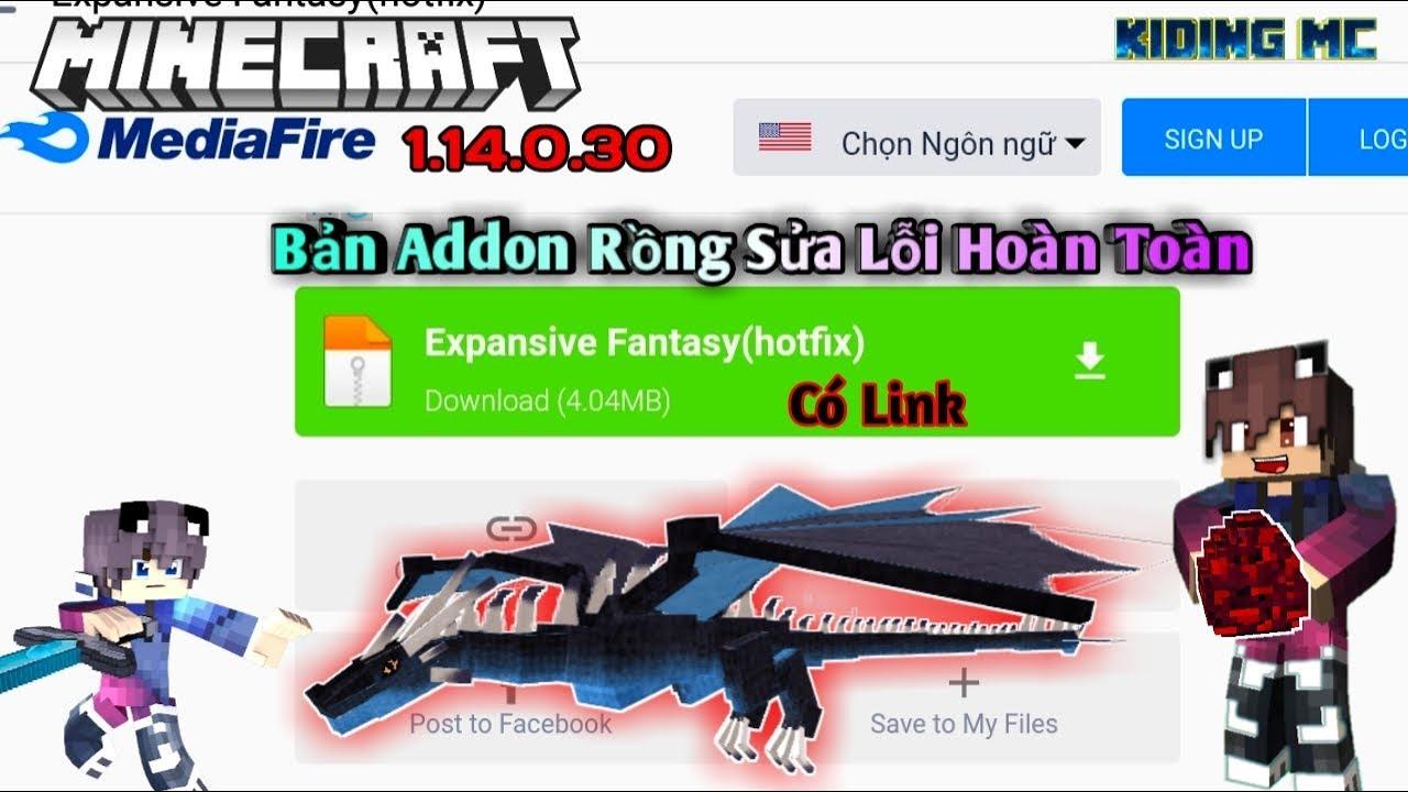 Hướng Dẫn Tải Và Cài Addon Kỵ Sỹ Rồng 2.0 Bản Fix Lỗi Hoàn Toàn (Có Link) | KIDING MC