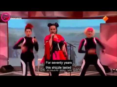 Netta Parody Anti Israel Song (English Subs)